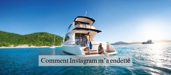 Comment Instagram m'a endetté